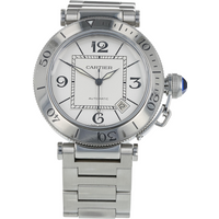 Pre-Owned Cartier Pasha Mens Watch W31080M7/2790