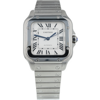 Pre-Owned Cartier Santos de Mens Watch WSSA0010/ 4075