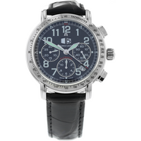 Pre-Owned Maurice Lacroix Masterpiece Flyback Aviator Mens Watch MP 6178