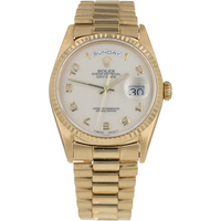 Pre-Owned Rolex Day-Date Mens Watch 18238