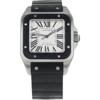 Pre-Owned Cartier Santos 100 Mens Watch W20121U2/ 2656