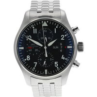 Pre-Owned IWC Pilot Chronograph Mens Watch