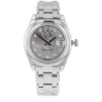 Pre-Owned Rolex Datejust White Gold Pearlmaster Unisex Watch at Goldsmiths Jewellery