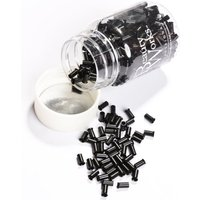 Copper Micro Rings Black 100 Pieces
