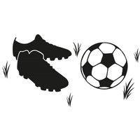 Wall-Art Wandtattoo Fußball Fußballschuhe