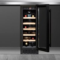 Amica Einbauweinkühlschrank WK 341 115 S, für 20 Standardflaschen á 075l