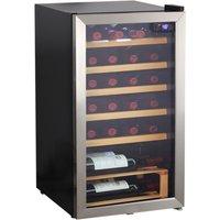 Hanseatic Weinkühlschrank HWC24FCBH, für 24 Standardflaschen á 075l