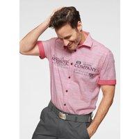 Man's World Kurzarmhemd, in modischer Streifenoptik