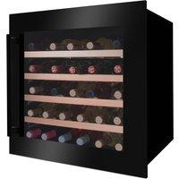 Amica Einbauweinkühlschrank WK 341 210 S, für 40 Standardflaschen á 075l, LED-Beleuchtung