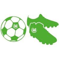 Wall-Art Wandtattoo VfL Wolfsburg - Fußballschuhe