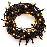 KONSTSMIDE LED-Lichternetz, 32 St.-flammig, LED Lichternetz, 32 bernsteinfarbene Dioden