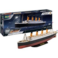 Revell Modellbausatz easy-click RMS TITANIC, 1:600, Made in Europe