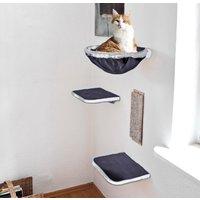 SILVIO design Katzen-Kletterwand, hoch, 4-tlg.