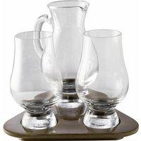 Stölzle Whiskyglas Glencairn Glass, (Set, 3 tlg.), 2 Gläser, 1 Krug auf Tablett