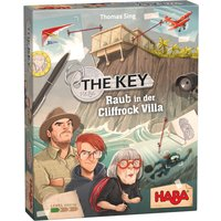 Haba Spiel The Key – Raub in der Cliffrock Villa, Made in Germany