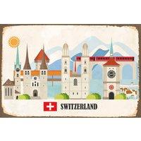 queence Metallbild Mirinda, Schweiz, (1 St.)