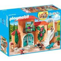 Playmobil Konstruktions-Spielset Sonnige Ferienvilla (9420), Family Fun, Kunststoff