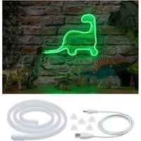 Paulmann LED-Streifen Neon Colorflex USB Strip Green 1m 4,5W 5V weiß Kunststoff, 1 -flammig