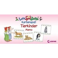 Tierkinder Memo (Kinderspiel) / LernSpielZwerge, Kartenspaß