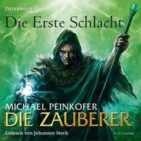 Die Zauberer Band 2: Die Erste Schlacht (8 Audio-CDs)