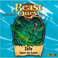Beast Quest - Zefa, Gigant des Ozeans, 1 Audio-CD