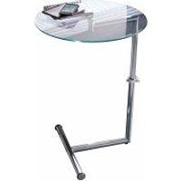 PureDay Beistelltisch Glas/Metall silber (2007274 )