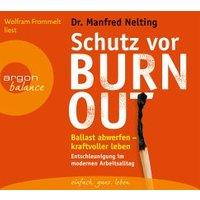 Schutz vor Burn-out Manfred Nelting