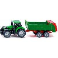 SIKU Traktor mit Universalstreuer, sor
