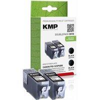 KMP C81D Tintenpatrone sw DP kompatibel m. Canon PGI-525 PGBK