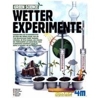 4M HCM68474 - Green Science,Wetter Experimente, Spiel