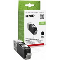 KMP C107BPIX Tintenpatrone sw komp. mit Canon PGI-570 XL PGBK