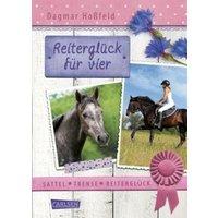 Reiterglück für vier / Sattel, Trense, Reiterglück Bd.3
