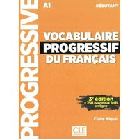 Vocabulaire progressif du français - Niveau débutant. Buch + Audio-CD