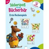 Stickerspaß mit dem Bücherbär. Erste Rechenspiele