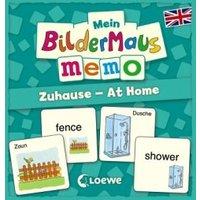 Mein Bildermaus-Memo - Englisch - Zuhause - At Home (Kinderspiel)