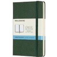 Moleskine Notizbuch, Pocket, A6, Punktraster, Hard Cover, Myrtengrün