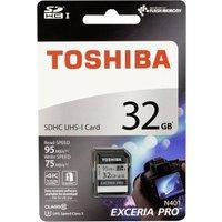 Toshiba SDHC Karte N401 32GB Exceria Ultra High Speed U3