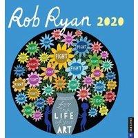 Rob Ryan 2020 Square Wall Calendar