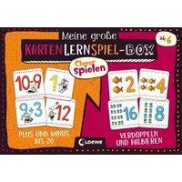 Meine große KartenLernSpiel-Box - Plus und Minus bis 20 / Verdoppeln und Halbieren