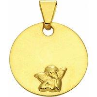 Adelia´s Anhänger Set 333 Gold Anhänger Amor Ø 12 mm, 333 Gold Goldschmuck für Damen - Angebote