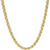 Luigi Merano Goldkette Kordelkette, hohl, Gold 585 - Angebote