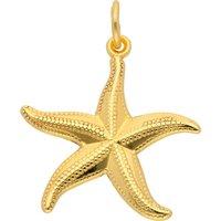 Adelia´s Kettenanhänger 333 Gold Anhänger Seestern, Goldschmuck für Damen - Angebote