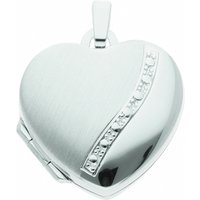 Adelia´s Kette mit Anhänger 925 Silber Medaillon Anhänger - Set mit Halskette, 925 Sterling Silber Silberschmuck für Damen - Angebote