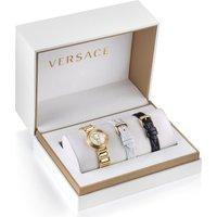 Versace Schweizer Uhr VIRTUS MINI DUO, VET300221, (Set, 3 tlg., mit 2 Wechselbändern) - Angebote