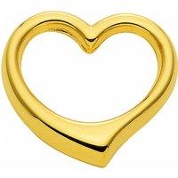 Adelia´s Kette mit Anhänger 333 Gold Anhänger Swingheart - Set mit Halskette, 333 Gold Goldschmuck für Damen - Angebote