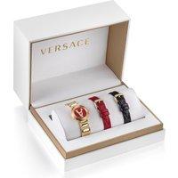Versace Schweizer Uhr VIRTUS MINI DUO, VET300321, (Set, 3 tlg., mit 2 Wechselbändern) - Angebote
