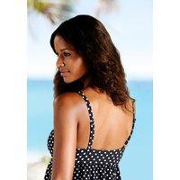 LASCANA Badeanzug Damen schwarz-weiß Gr.40