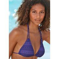 VENICE BEACH Triangel-Top Damen lila-bedruckt Gr.38