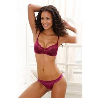 Push-up-BH Damen bordeaux Gr.80