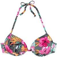 BUFFALO Push-Up-Bikini-Top Damen oliv-bedruckt Gr.36